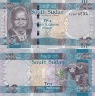 South Sudan - 10 Pounds 2011 AUNC Lemberg-Zp - Soudan