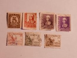 ESPAGNE  1936-40  Lot # 35 - 1931-Aujourd'hui: II. République - ....Juan Carlos I