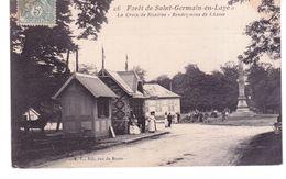 Forêt De Saint Germain En Laye - La Croix De Noailles , Rendez-vous De Chasse - St. Germain En Laye
