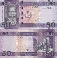 South Sudan - 50 Pounds 2017 UNC Lemberg-Zp - Soudan