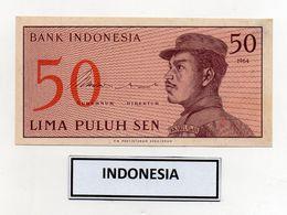 Indonesia - 1964 - Banconota Da 50 Sen - Nuova - (FDC8071) - Indonesia