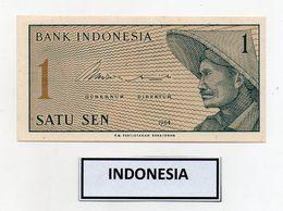 Indonesia - 1964 - Banconota Da 1 Sen - Nuova - (FDC8075) - Indonesia