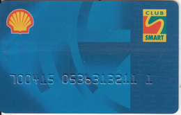 GREECE - Shell Smart Club, Magnetic Member Card, Unused - Other Collections