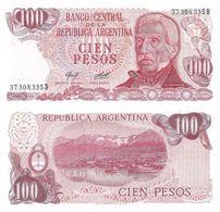Argentina 100 Pesos 1976-78 Pick 302.a.2 UNC Ref 99-1 - Argentina