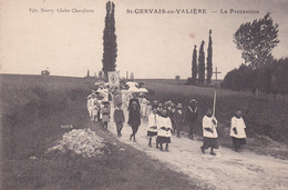 SAINT GERVAIS EN VALIERE - La Procession - Autres Communes