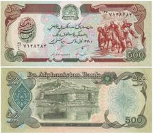 Afganistán - Afghanistan 500 Afghanis 1990 Pick 60.b UNC Ref 6-1 - Afghanistán