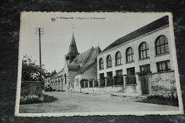 402  Philippeville   L' Eglise Et Le Pensionnat - Philippeville