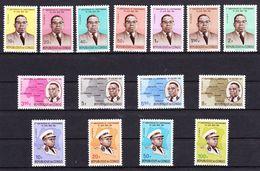 Republiek Congo 1961 Nr 430/44 **, Zeer Mooi Lot Krt 3972 - République Du Congo (1960-64)