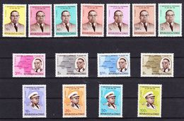 Republiek Congo 1961 Nr 430/44 **, Zeer Mooi Lot Krt 3972 - Republic Of Congo (1960-64)