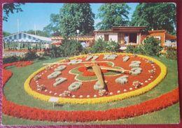GENEVE - L'HORLOGE FLEURIE - Flowers Clock Orologio Vg 1968 - GE Genève