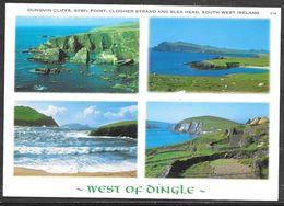 Ireland, Co. Kerry, West Of Dingle, Multivew, Unused - Kerry