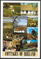 Cottages Of Ireland, Multiview, Unused - Ireland