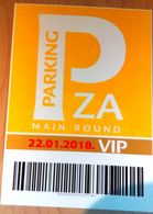 HANDBALL / MEN'S EHF EURO CROATIA 2018 / Parking Sign, Carton Poster - Handball