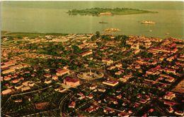GUINE BISSAU PORTUGUESE GUINEA - VISTA AEREA E ILHEU DO REI ISLAND 14 X 9 CMS 1940/50S - Guinea-Bissau