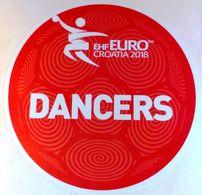 HANDBALL / MEN'S EHF EURO CROATIA 2018 / Main Official Sticker / DANCERS - Handball