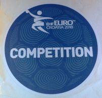 HANDBALL / MEN'S EHF EURO CROATIA 2018 / Main Official Sticker / COMPETITION - Handball