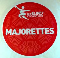 HANDBALL / MEN'S EHF EURO CROATIA 2018 / Main Official Sticker / MAJORETTES - Handball