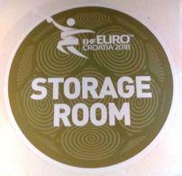 HANDBALL / MEN'S EHF EURO CROATIA 2018 / Main Official Sticker / STORAGE ROOM - Handball