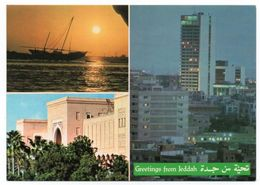 SAUDI ARABIA/ARABIE SAOUDITE - GREETINGS FROM JEDDAH / RED METER / EMA - Arabia Saudita