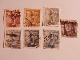 ESPAGNE  1942-53  Lot # 39 - 1931-Aujourd'hui: II. République - ....Juan Carlos I
