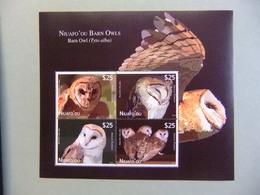 TONGA / NIUAFO' OU 2012 FAUNA BIRDS OWLS CHOUETTES LECHUZAS BUHO YVERT ** MNH - Tonga (1970-...)