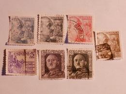ESPAGNE  1938-48  Lot # 42 - 1931-Aujourd'hui: II. République - ....Juan Carlos I