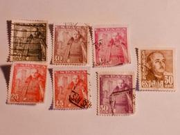 ESPAGNE  1948-49  Lot # 43 - 1931-Aujourd'hui: II. République - ....Juan Carlos I