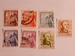 ESPAGNE  1948-49  Lot # 44 - 1931-Aujourd'hui: II. République - ....Juan Carlos I