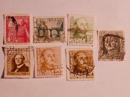 ESPAGNE  1942-49  Lot # 45 - 1931-Aujourd'hui: II. République - ....Juan Carlos I