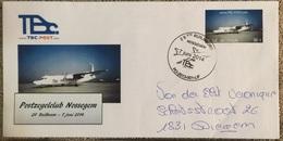 TBC POST : Enveloppe Ruilbeurs 7/6/2014  Gelopen Stuk , Eerste Dag Afstempeling - België