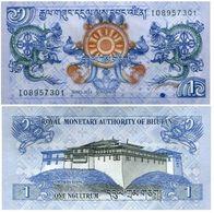 Butan - Bhutan 1 Ngultrum 2013 Pick 27 B UNC Ref 278-1 - Bhutan