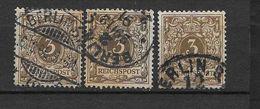 LOTE 1615  ///  ALEMANIA IMPERIO    YVERT Nº:  45  CON FECHADOR DE BERLIN - Usados