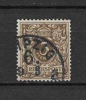 LOTE 1615  ///  ALEMANIA IMPERIO    YVERT Nº:  45  CON FECHADOR DE LEIZPIG - Usados