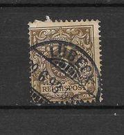 LOTE 1615  ///  ALEMANIA IMPERIO    YVERT Nº:  45  CON FECHADOR DE LUBECK - Usados