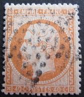 Lot FD/622 - NAPOLEON III N°23 - ETOILE MUETTE DE PARIS - 1862 Napoleon III