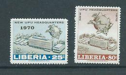 Liberia 1970 UPU Set 2 MNH - Post
