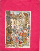 ILLUSTRATEUR  GILBERT  - CPA  COLORISEE - La Rue De L'Ecole De Medecine Sous Louis XIV - ENCH11/BORD - - Andere Zeichner