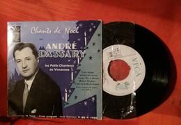 D3  CHANTS DE NOEL ANDRE DASSARY ET LES PETITS CHANTEURS DE VINCENNES MINUIT CHRETIEN - Christmas Carols