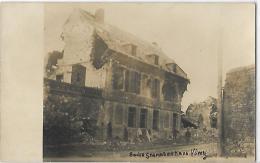 VIMY - Carte Allemande - Maison  Bombardée - France