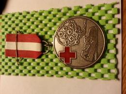 Medaille  / Medal - Van Tin Van De Rode Kruis Bloesemtocht Geldermalsen - The Netherlands - Médical