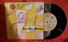 D3  JELLY ROLL MORTON ALL STARS GUILDE DU JAZZ 33 T FORMAT 45 T - Jazz