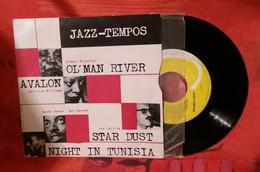D3 JAZZ TEMPOS 45 T LONGUE DUREE OL' MAN RIVER AVALON STAR DUST NIGHT IN TUNISIA - Jazz