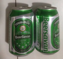 Laos Savan 330ml Beer Can / Empty One / 02 Photo - Cans