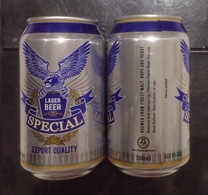 Cambodia SPECIAL 330ml Beer Can / Empty One - Cans