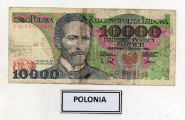 Polonia - 1988 - Banconota Da 10000 Sloty - Usata -  (FDC8076) - Polonia