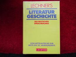 """Literatur Geschichte """"Des Deutschen Sprachraumes"""" / éditions Lechner De 1995 - Livres, BD, Revues"""
