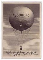 Dt- Reich (005440) Propagandakarte Gorden Bennett- Rennen Warschau 1936, Freiballon Abteilung Augsburg, Gelaufen - Deutschland