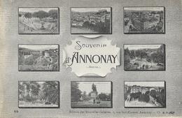 Souvenir D'Annonay - Multivues - Edition Des Nouvelles Galeries - Carte Non Circulée - Souvenir De...