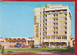 BUZAU HOTEL ,,PIETROASA'' AUTO CARS ROMANIA POSTCARD USED - Romania