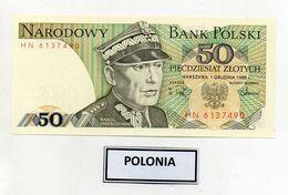 Polonia - 1988 - Banconota Da 50 Sloty - Nuova -  (FDC8082) - Polonia